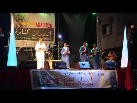 مجموعة اسمكان التسمية ـ مهرجان إزوران كناوة  – Izouran Gnawa – IzouranGnawa
