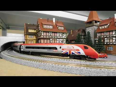 【N scale】Revolution Pendolino Class 390 test run