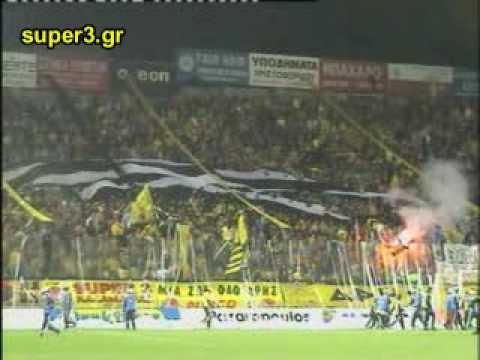 Aris - paok 0 - 0 kitrino ntoumani (видео)