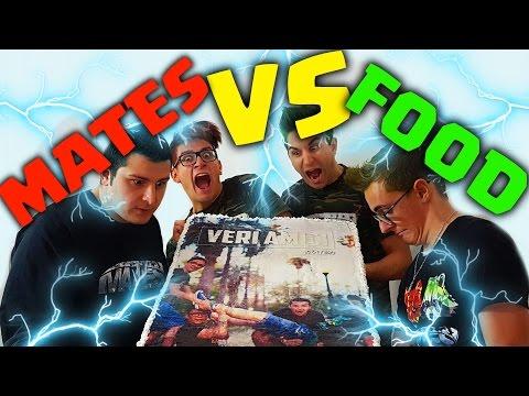 MATES VS FOOD CON I CAPELLI COLORATI - 15KG DI TORTA!!