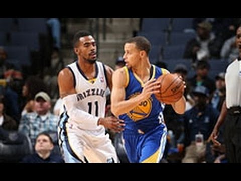 Video: Stephen Curry Dishes and Swishes to Top the Grizzlies