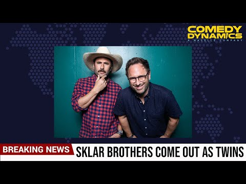 Sklar Brothers Analysis...The Twins Issue (Stand up Comedy)