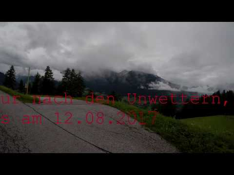 Biketour in Mieders im Stubaital nach den Unwettern 12.08.2017 GoPro Hero 5 Video (видео)