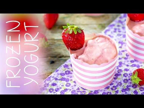 frozen yogurt - ricetta light senza gelatiera