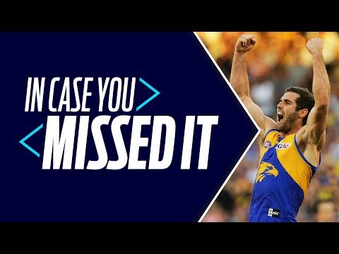 In Case You Missed It: Eagles Sit Pretty, Lions break | Round 9, 2018 | AFL (видео)