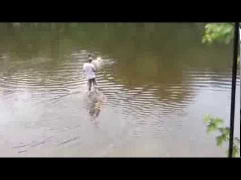 Bowfishing on the Tippecanoe River