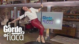 Clarissa Molina se sube al tubo como JLo y termina haciendo un atrevido baile