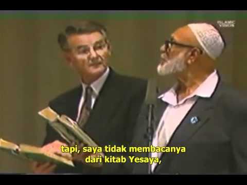 Adakah Bible Kalam Allah yang sebenar - Deedat vs Sjoberg (Malay Sub) Part 4
