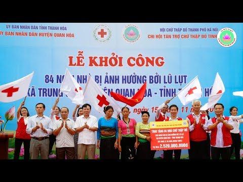 Chi hội Tình Người khởi công 84 Nhà CTĐ huyện Quan Hóa, tỉnh Thanh Hóa