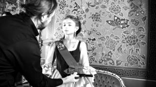 Axenoff Jewellery campaign backstage