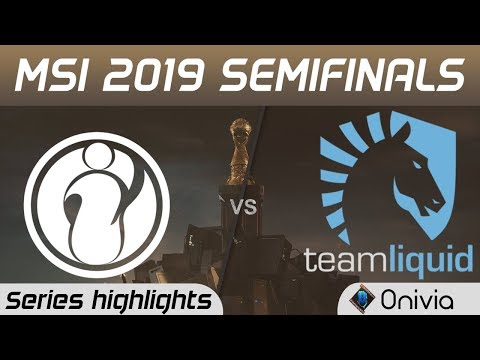 IG vs TL Highlights All Games MSI 2019 Semifinals Invictus Gaming vs Team Liquid by Onivia