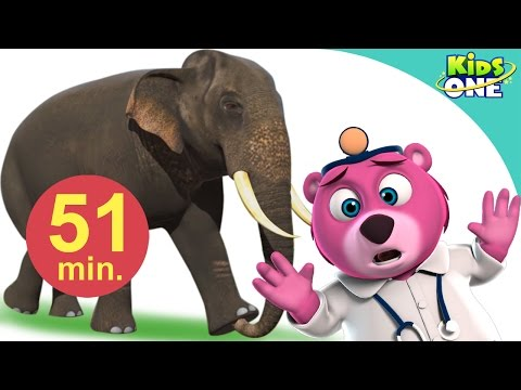 Hathi Mera Sathi Aaya | Hindi Children Rhymes | 51 Min Compilation