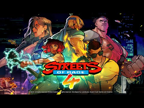 Streets of Rage 4 : Floyd Iraia & Multiplayer