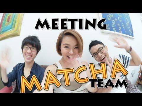 Meeting MATCHA team -Multi lingual travel magazine about JAPAN-