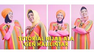 Video Tutorial Hijab ala Gen Halilintar MP3, 3GP, MP4, WEBM, AVI, FLV April 2019