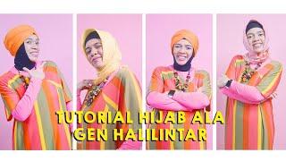 Video Tutorial Hijab ala Gen Halilintar MP3, 3GP, MP4, WEBM, AVI, FLV Juni 2019