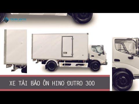Xe tải HINO DUTRO 300 Series thùng bảo ôn tại Tran Auto