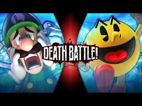 Fan Made Death Battle Trailer: Luigi VS Pac Man (Nintendo VS Bandai Namco)