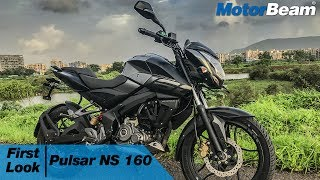https://www.motorbeam.com does a first look review of the Pulsar NS 160 which is the latest Pulsar to be launched by Bajaj Auto, competing against the Suzuki Gixxer, Honda CB Hornet 160R and Yamaha FZ V2. The Pulsar NS 160 gets an oil-cooled engine and perimeter frame but misses out on a rear disc and wide tyres.Priced on par with competition, the Pular NS 160 will return good mileage and produces 15.5 HP of power and 14.6 Nm of torque.Become a #MotorBeamer: http://bit.ly/MotorBeamerVisit our website: https://www.motorbeam.comLike us on Facebook: https://www.facebook.com/MotorBeamFollow us on Instagram: http://www.instagram.com/MotorBeamAdd us on Snapchat: https://www.snapchat.com/add/MotorBeamFollow us on Twitter: https://www.twitter.com/MotorBeamCheck us out on Pinterest: https://www.pinterest.com/motorbeam+1 us on Google Plus: https://plus.google.com/+motorbeam