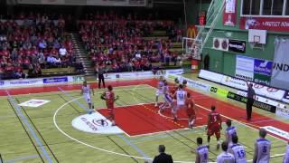 Sundsvall Dragons VS. Uppsala Basket 30 mars