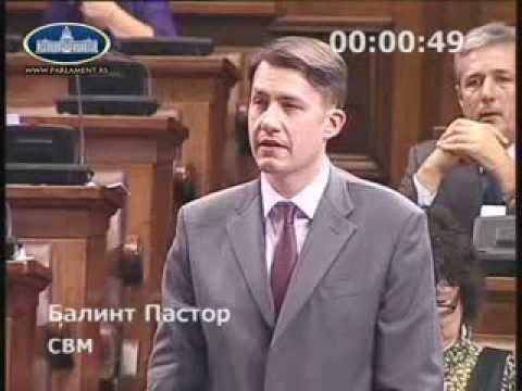 Parlamenti felszólalás - 2014. évi költségvetés - a VMSZ (szabadkai Népszínház építésével kapcsolatos) módosítási indítványának vitája-cover
