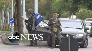 49 killed in terror attack at New Zealand mosques