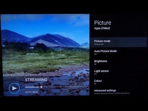 Sony KD-65X8505 Best Picture Settings