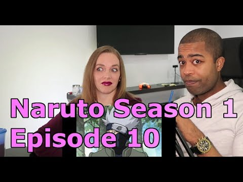 """Naruto Season 1 Episode 10 """"The Forest of Chakra""""  (REACTIONS 🔥)"""