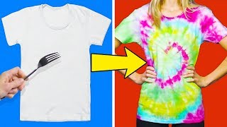 Video 20 COLORFUL AND SIMPLE CLOTHING HACKS FOR CHILDREN MP3, 3GP, MP4, WEBM, AVI, FLV Februari 2018