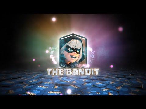 Clash Royale: THE BANDIT'S BATTLE SKILLS! (New Clash Royale Card!) (видео)