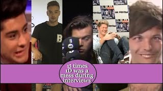 Video 15 times One Direction was a mess during interviews MP3, 3GP, MP4, WEBM, AVI, FLV Maret 2019