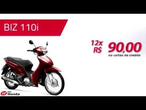 Biz 110i com Entrada de R$ 1.000
