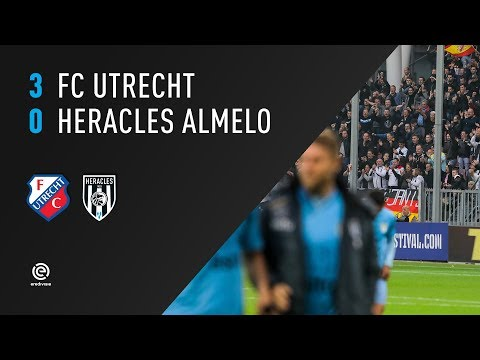 FC Utrecht 3-0 Heracles Almelo