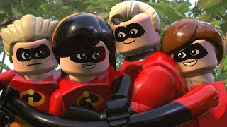 Video LEGO The Incredibles - All Cutscenes Full Movie HD MP3, 3GP, MP4, WEBM, AVI, FLV Juli 2019