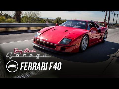 1990 Ferrari F40  Jay Lenos Garage