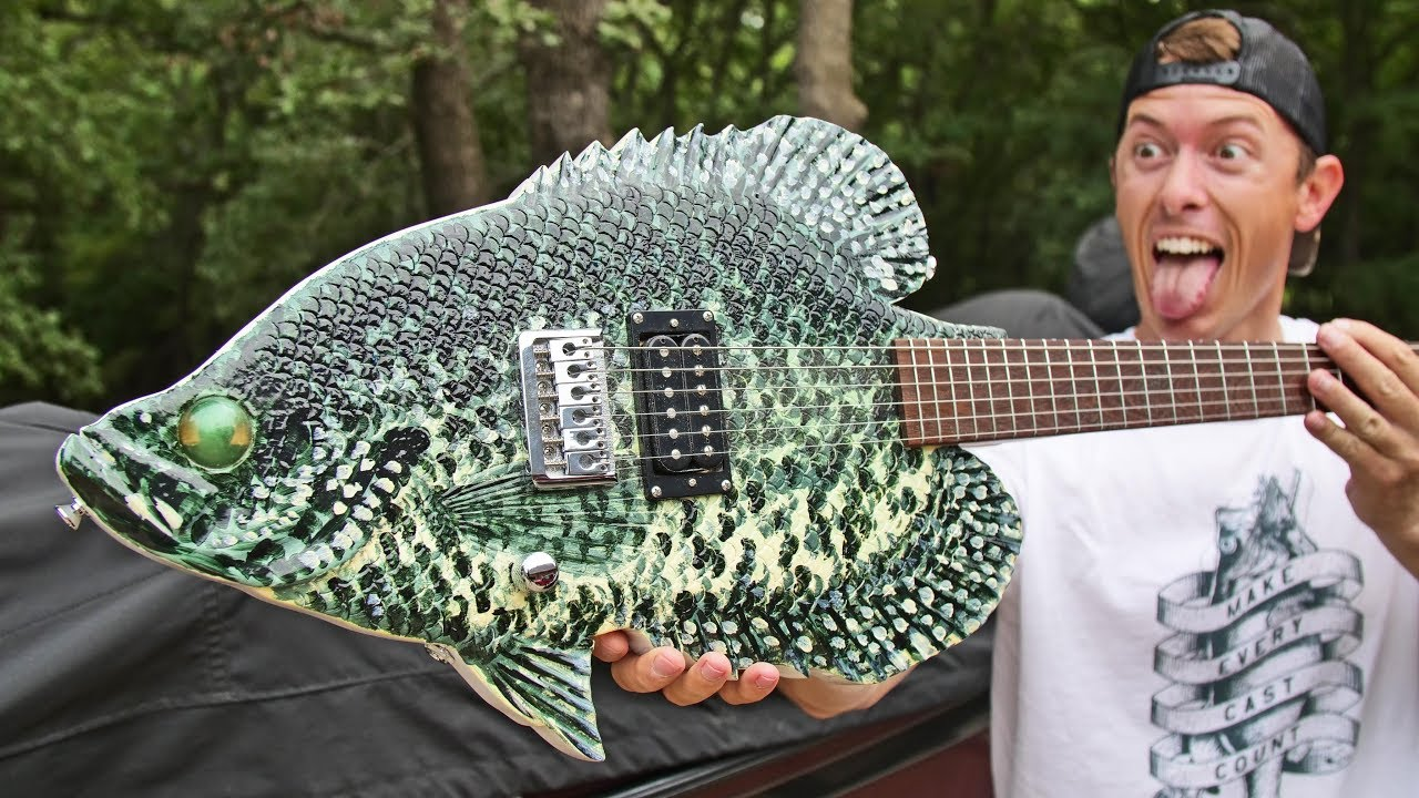 The Best Fishing Guitar Ever!