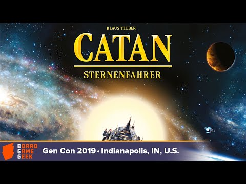 Catan: Starfarers — game overview at Gen Con 2019