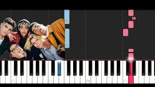 Video PrettyMuch - Would You Mind (Piano Tutorial) MP3, 3GP, MP4, WEBM, AVI, FLV Juni 2018