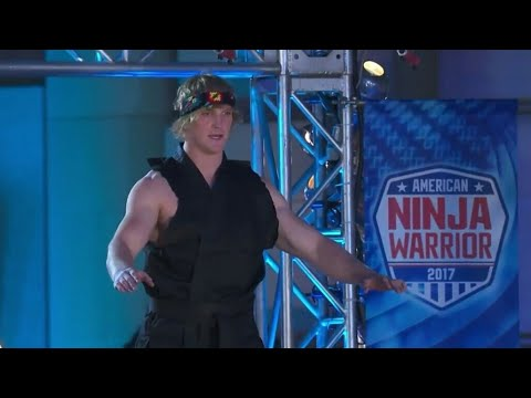 Logan Paul In American Ninja Warrior | Logan Is Insane | MaDy's CreaTion