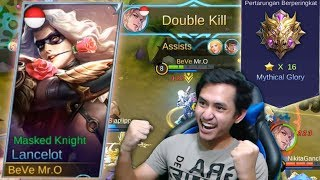 Video COBA NEW SKIN LANCELOT BARENG AFIF MYTHICAL GLORY YULISTIAN - Mobile Legends Indonesia MP3, 3GP, MP4, WEBM, AVI, FLV Oktober 2017