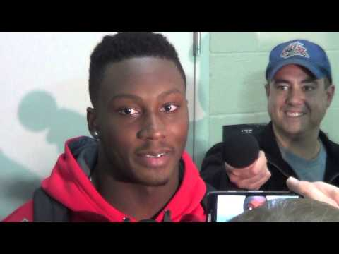 Noah Spence Interview 10/23/2013 video.