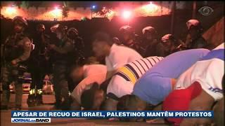 Em uma tentativa de baixar a tensão com os palestinos, Israel removeu detectores de metais da entrada da Cidade Velha de Jerusalém.