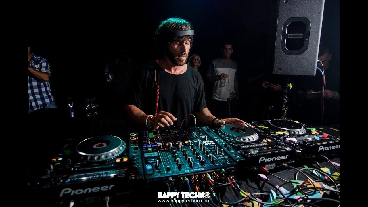 Lexlay - Live @ Happy Techno Festival on the Beach, Barcelona, Spain, September 2016