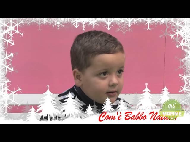 Parole di bimbi: com'è Babbo Natale?