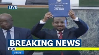 Breaking News - Dr. Abiy Ahmed is officially sworn in as Ethiopia's Prime minister
