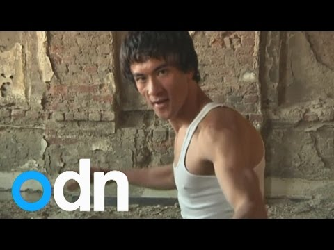 Is this man Bruce Lee's reincarnation…in Afghanistan?