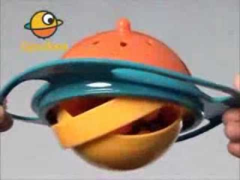 Universal Gyro Bowl Kids Proof 360 Degrees Spill