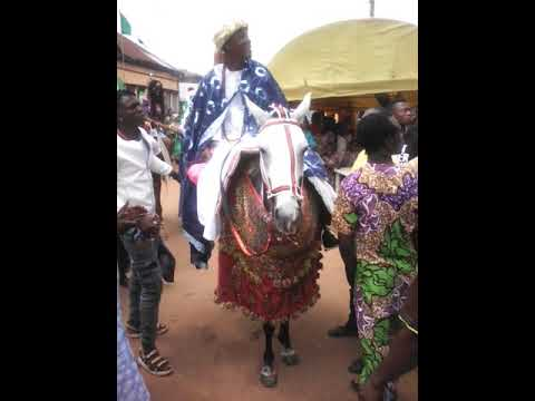 Ojude Oba 2017 (Ismail Kayode Towolawi). The best horse rider in Ijebu Land.