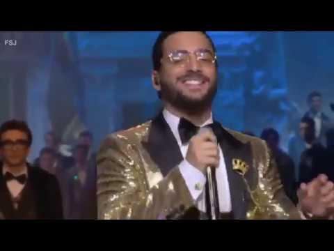 Y así Maluma deslumbró en Milán (VIDEO)