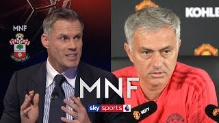 Carragher's passionate response to Mourinho after Rashford comments | MNF